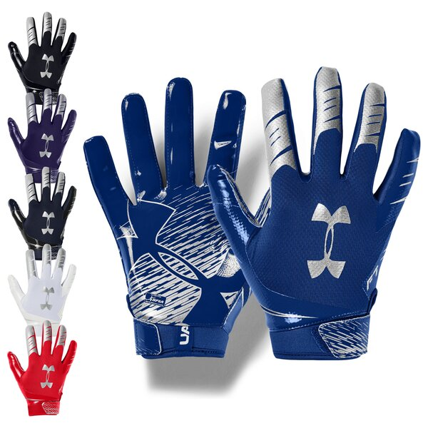 Under Armour F7 American Football Receiver Handschuhe